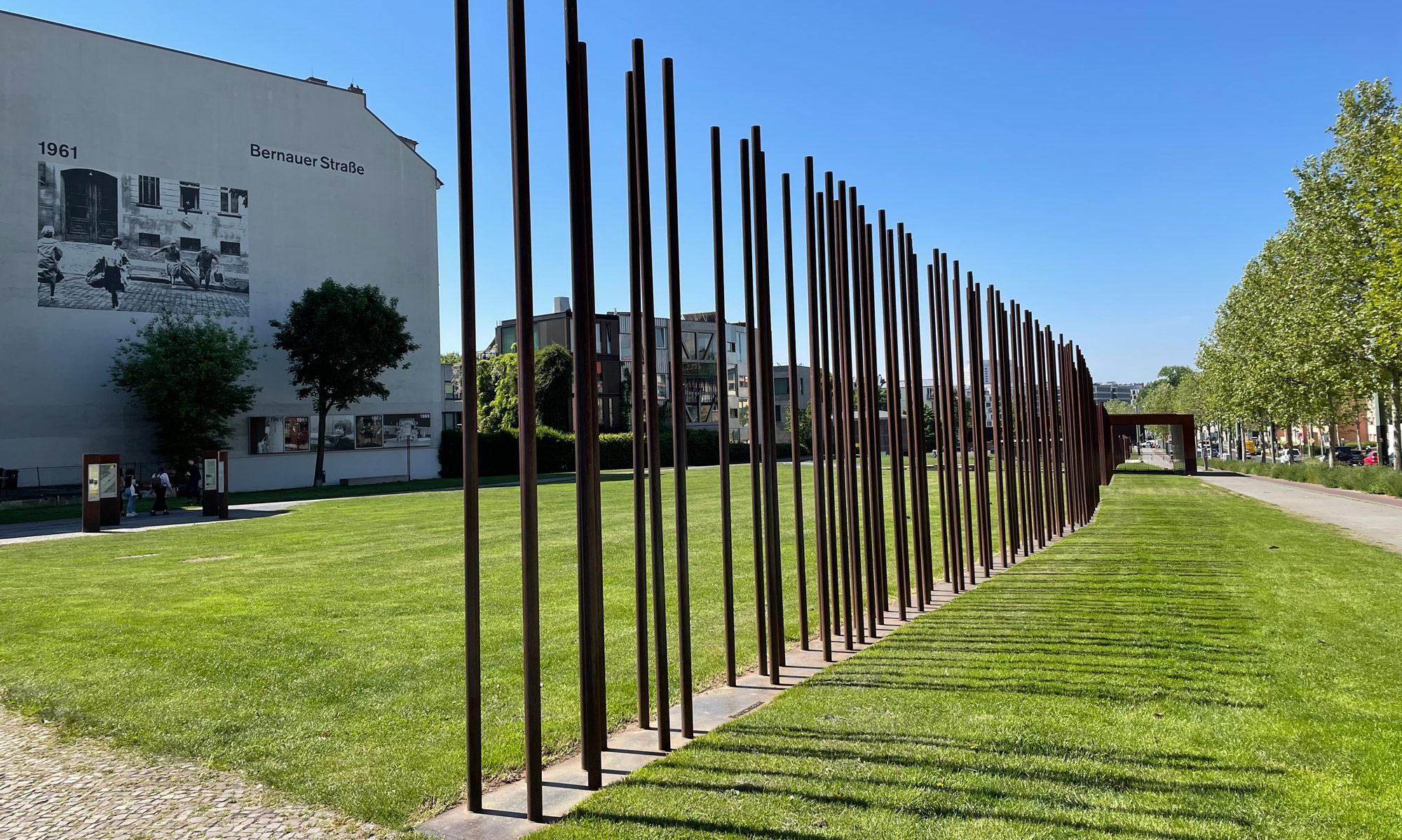 Berliner Mauer an der Bernauer Straße