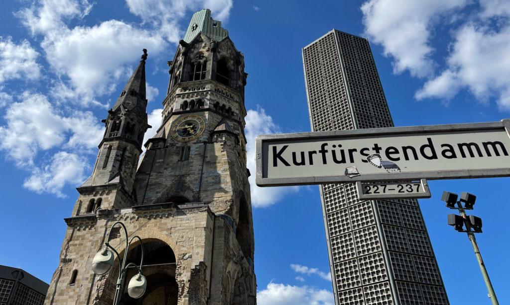 Kaiser-Wilhelm-Gedächtniskirche auf dem Kurfürstendamm
